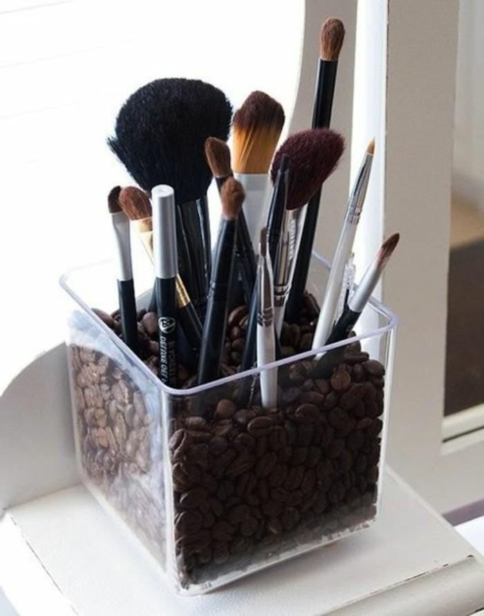 52 id es de rangement make up en photos et vid os - Palette de pinceaux maquillage pas cher ...