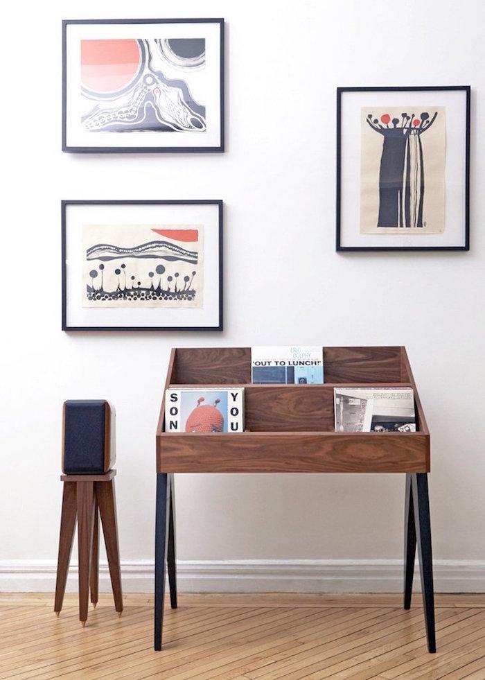 meuble vinyle 35 id es design et pratiques pour votre. Black Bedroom Furniture Sets. Home Design Ideas