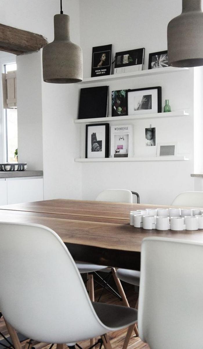 La salle à manger scandinave en 67 photos