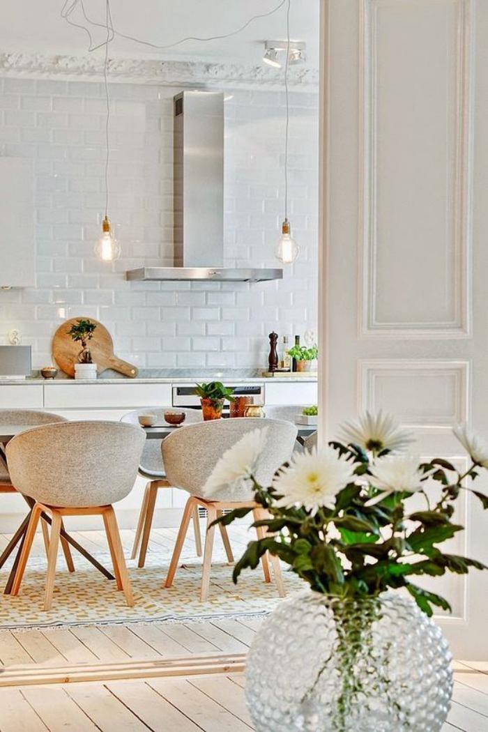 la salle manger scandinave en 67 photos. Black Bedroom Furniture Sets. Home Design Ideas