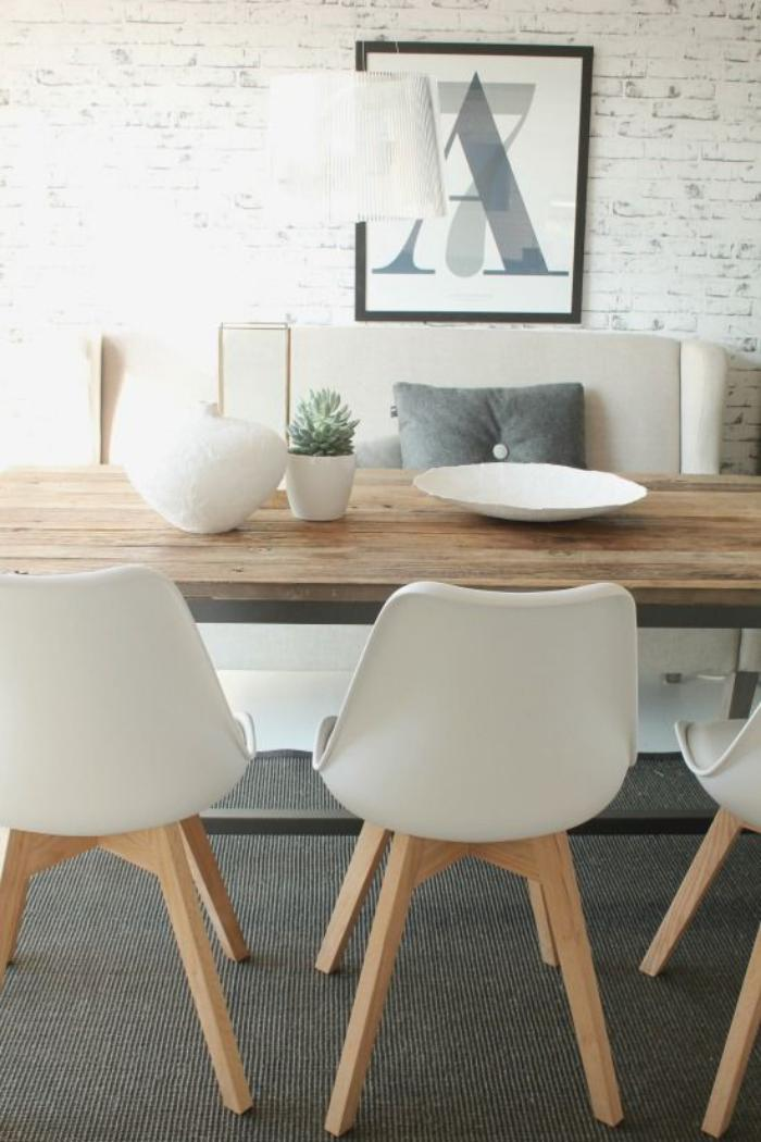 La salle manger scandinave en 67 photos for Meuble design table salle a manger