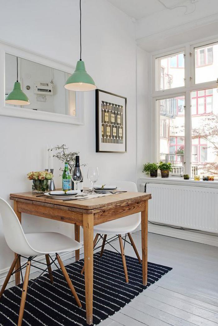 salle-à-manger-scandinave-petite-table-en-bois-design-scandinave