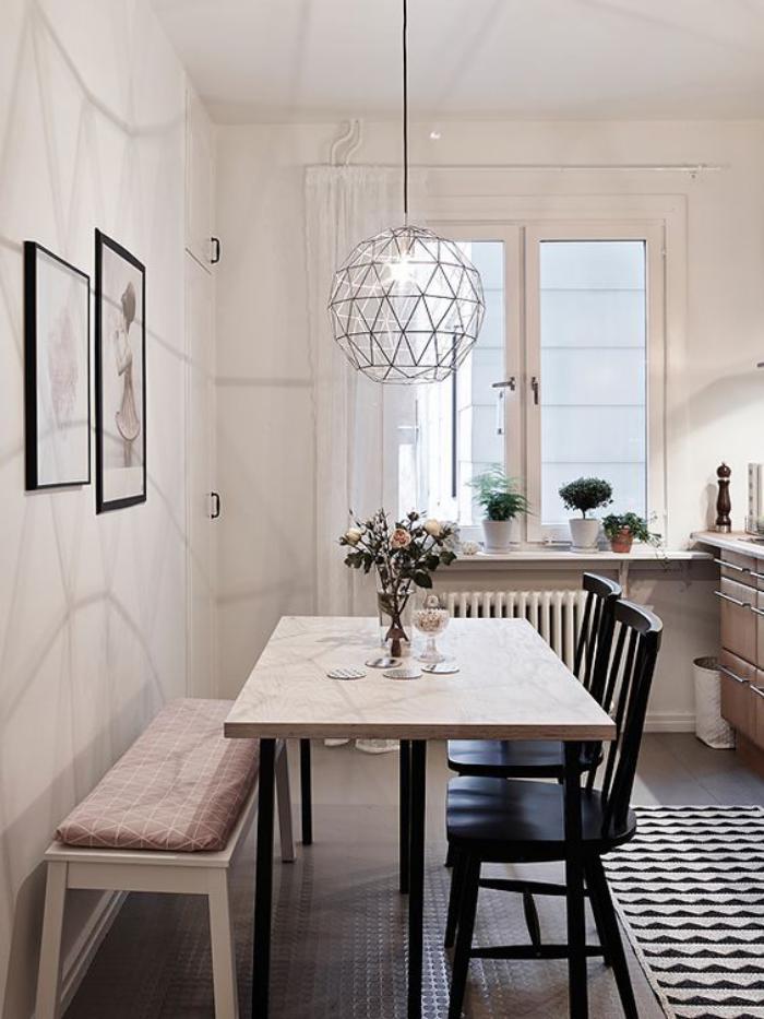 salle-à-manger-scandinave-suspension-déco-aménagement-de-salle-scandinave