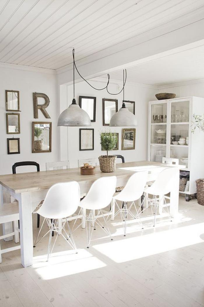 salle-à-manger-scandinave-tableèà-manger-pour-plusieurs-personnes