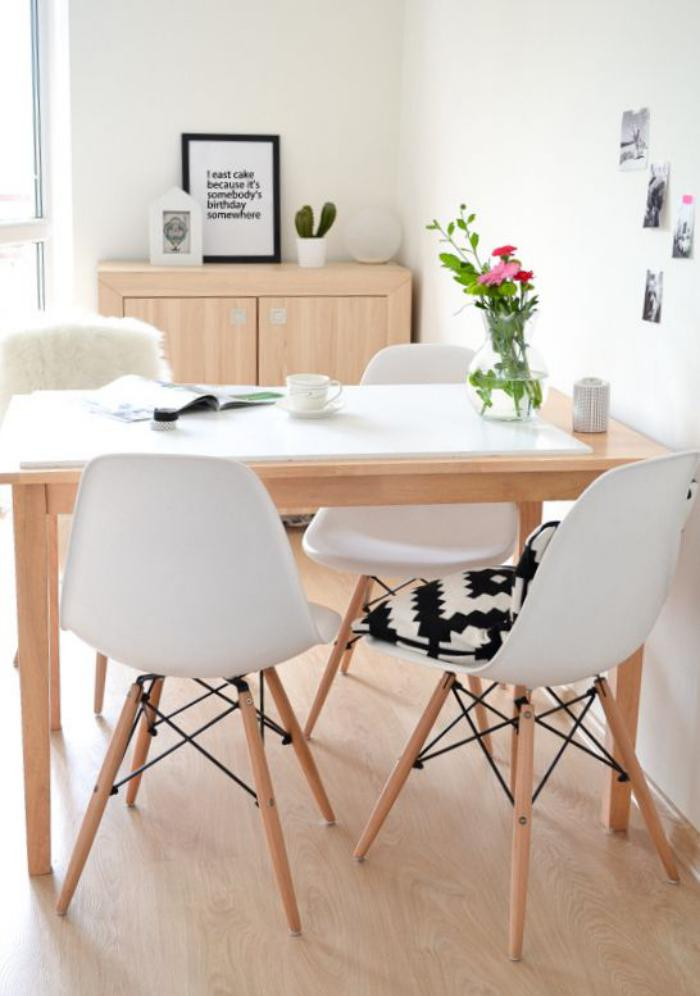 La salle manger scandinave en 67 photos for Table salon style scandinave
