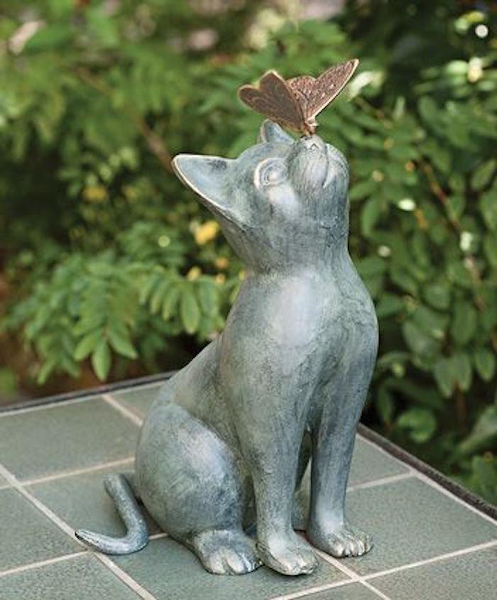 statues-de-jardin-aménager-idee amenagement-jardin