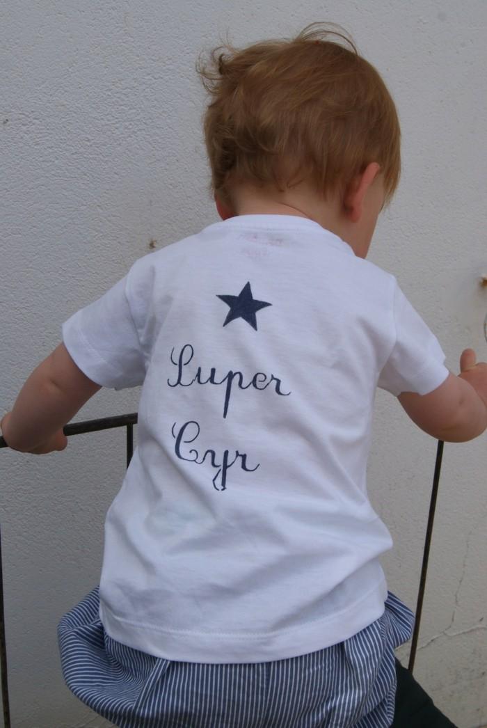 nouveau produit e1101 b9236 T-shirt personnalisé enfant pour chaque occasion. 80 idées ...