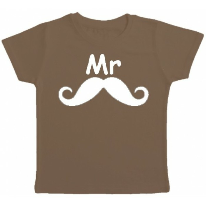 t-shirt-personnalisé-enfant-Kibule-com-Mr-moustache-marron-resized