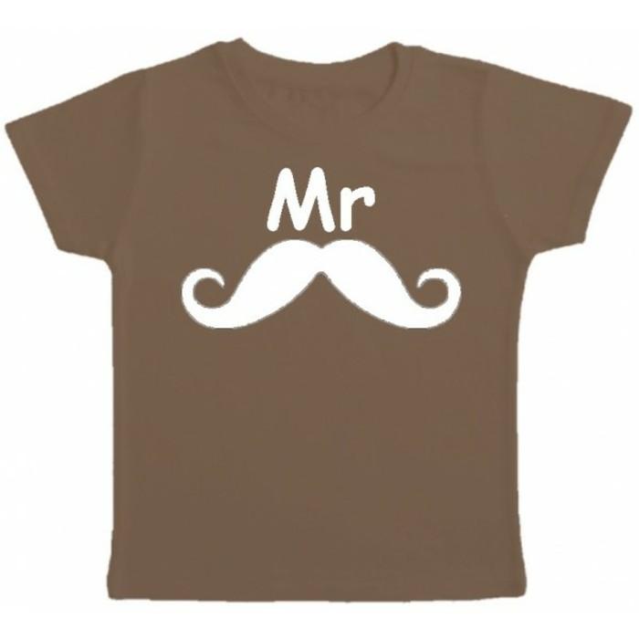 t-shirt-personnalisé-enfant-Kibule-com-Mr-moustache-marron-resized
