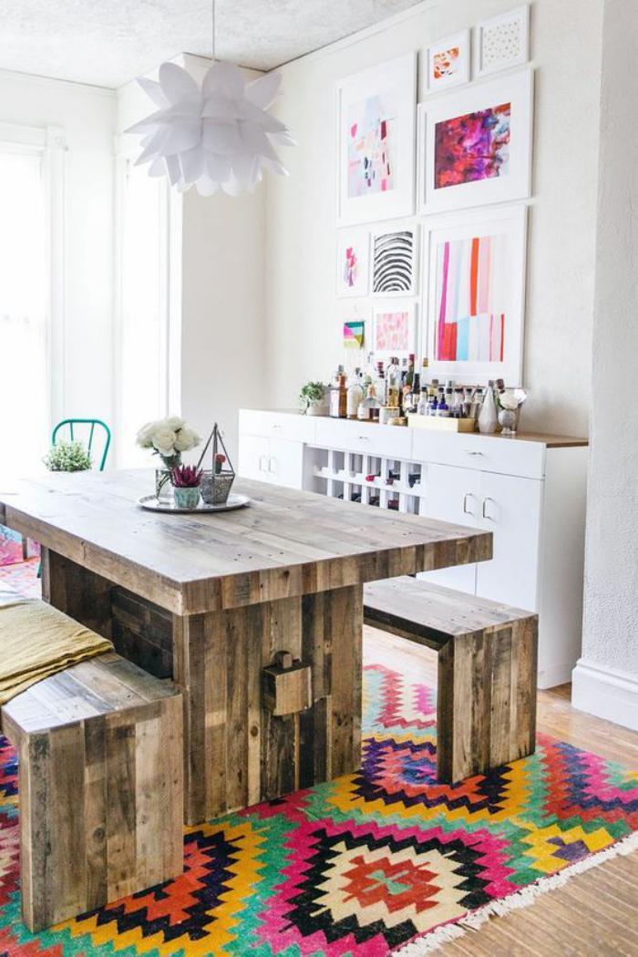 Pourquoi choisir une table avec banquette pour la cuisine ou la ...
