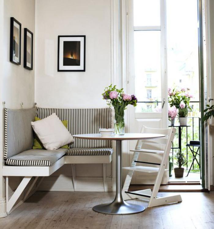 Pourquoi choisir une table avec banquette pour la cuisine for Table petits espaces