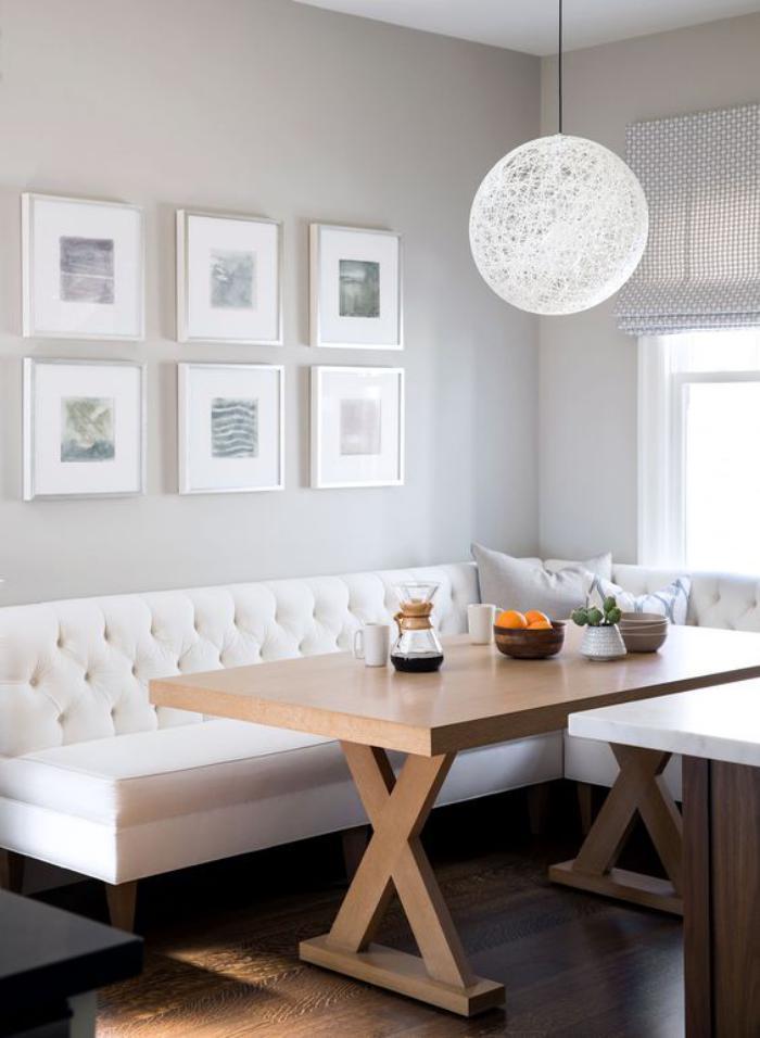 Pourquoi choisir une table avec banquette pour la cuisine for Cuisine qui fait salle a manger
