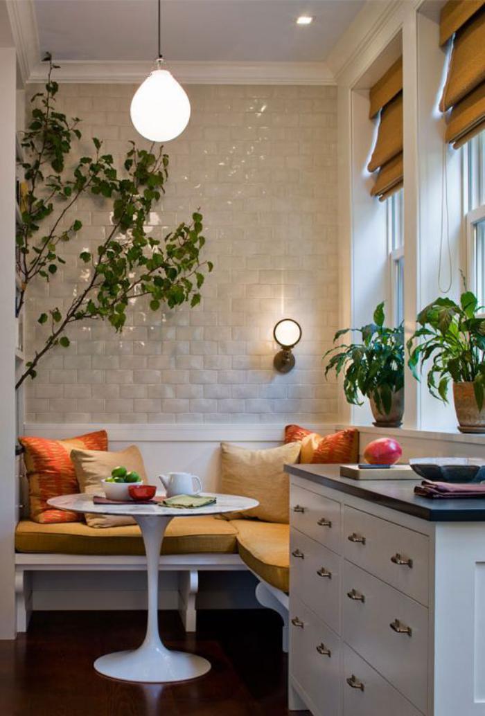 Pourquoi choisir une table avec banquette pour la cuisine for Small eating area ideas