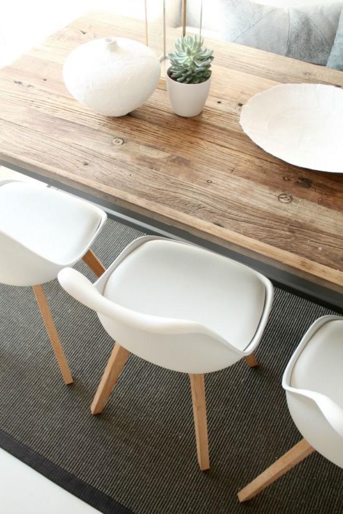table-de-salle-à-manger-coin-repas-scandinave