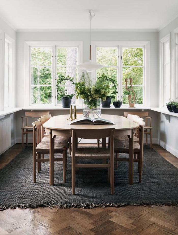 La table de salle à manger en 68 variantes - Archzine.fr