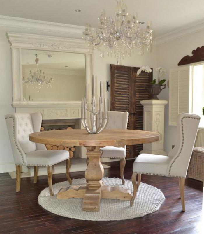 La table de salle manger en 68 variantes for Table salle a manger qui se deploie