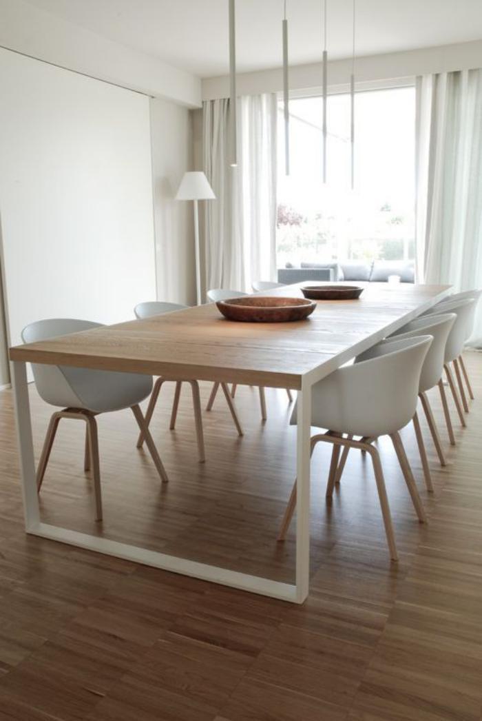 La table de salle manger en 68 variantes - Table salle a manger teck ...
