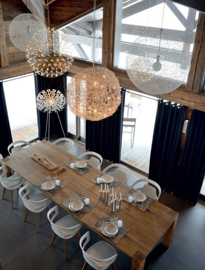 table-de-salle-à-manger-salle-à-manger-déco-scandinave-suspensions