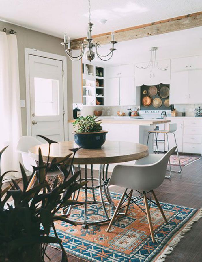 table-de-salle-à-manger-salle-à-manger-et-cuisine-style-scandinave