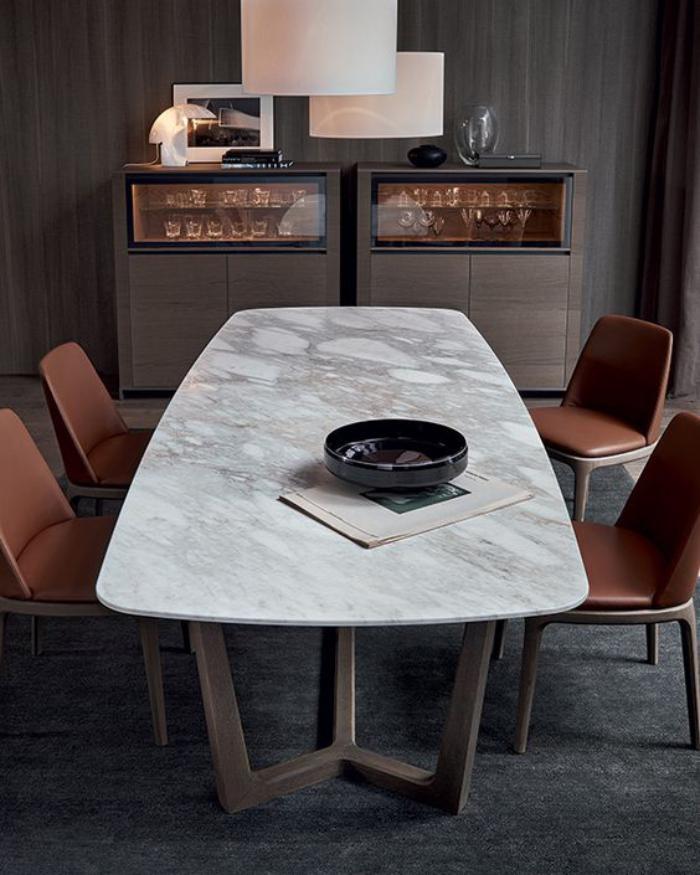 salle a manger en marbre table de salle manger top en marbre et petit - Salle A Manger En Marbre