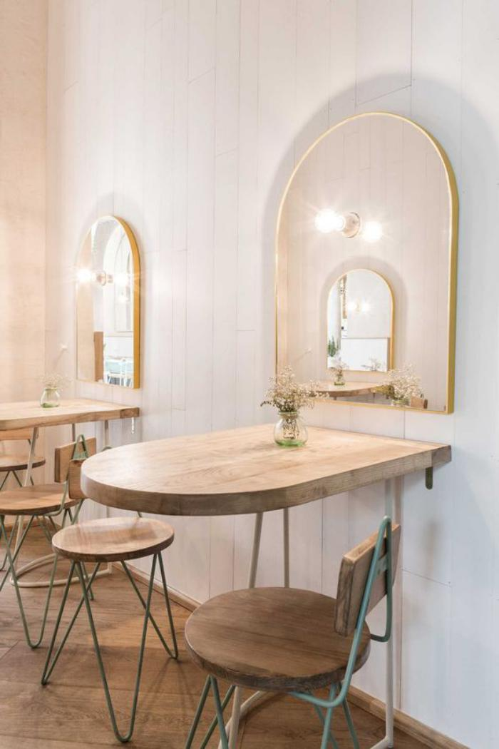 table-de-salle-à-manger-table-gain-de-place-style-vintage