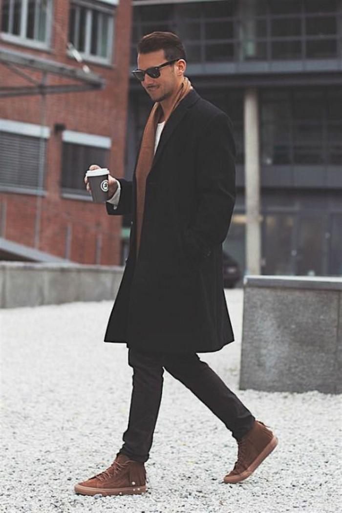 tenue-automne-echarpes-homme-foulard-burberry-cool