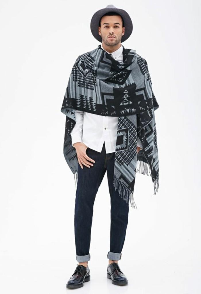tenue-automne-echarpes-homme-foulard-burberry-idee