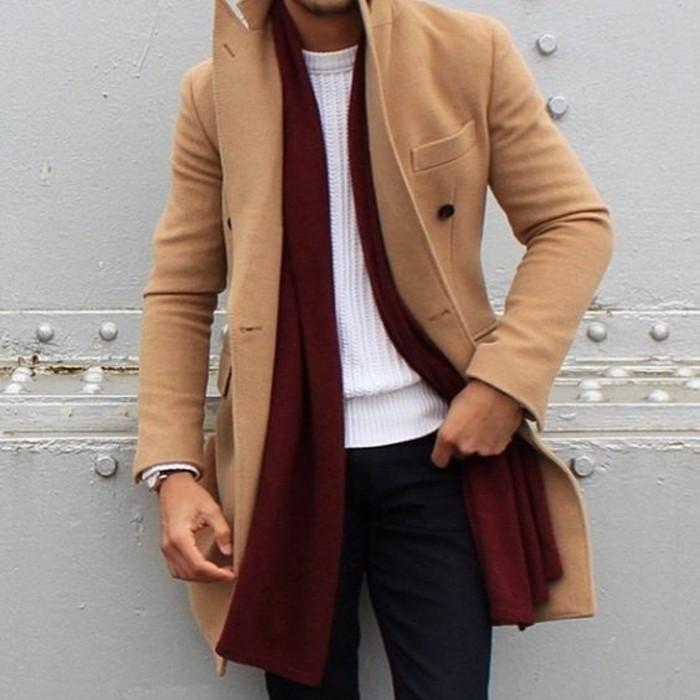 tricoter-une-écharpe-pour-homme-s-habiller-bien-elegant
