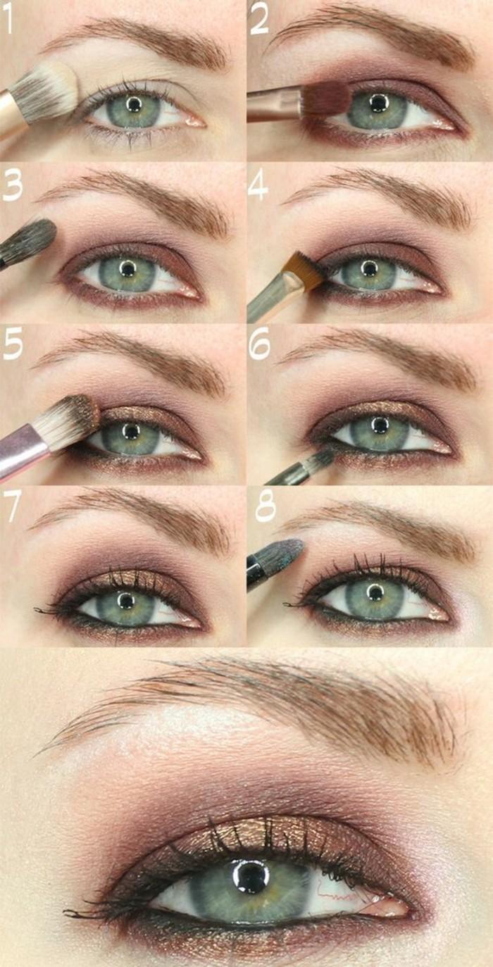 Hervorragend Comment maquiller les yeux verts? 50 astuces en photos et vidéos! GL41