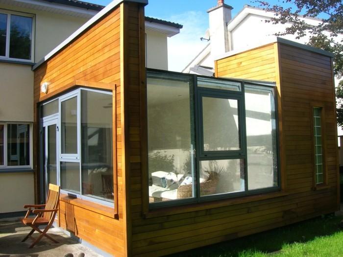 veranda-moderne-en-aluminium-imitation-bois-une-idée-géniale-design-contemporain-lignes-épurées