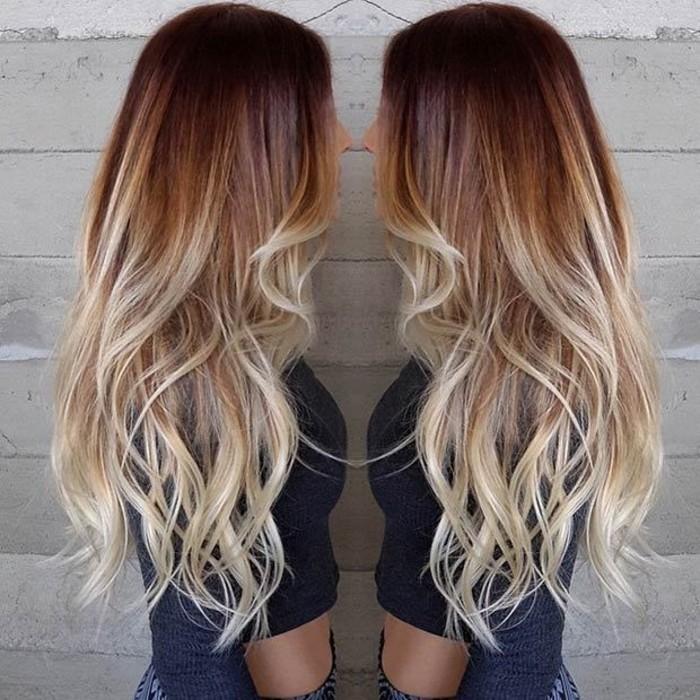 vos-cheveux-bruns-mèches-caramel-magnifique
