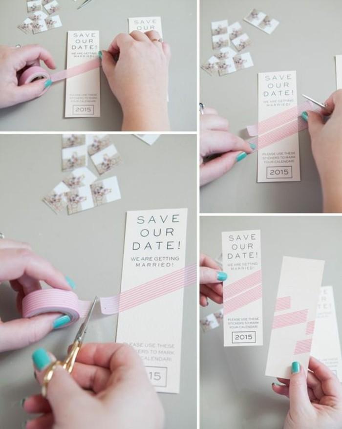 DIY Fairepart De Mariage Original Pour Moins De 60 Euros Classy Stil Des Invitation De Mariage