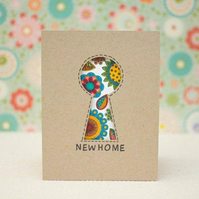 Comment faire une carte de voeux vous m mes la maison - Carte de voeux maison ...