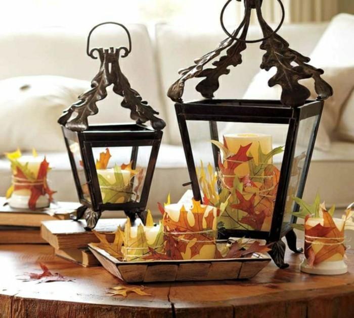 0-lanterne-en-fer-noir-et-marron-decoration-avec-feuilles-decedes-oranges