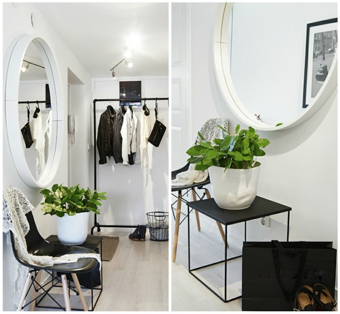 168-grand-miroir-chamber-deux-pots-avec-des-plantes-vertes