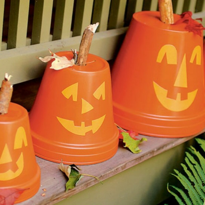 Bricolage halloween 82 id es diy cr atives - Decoration pour halloween a faire soi meme ...