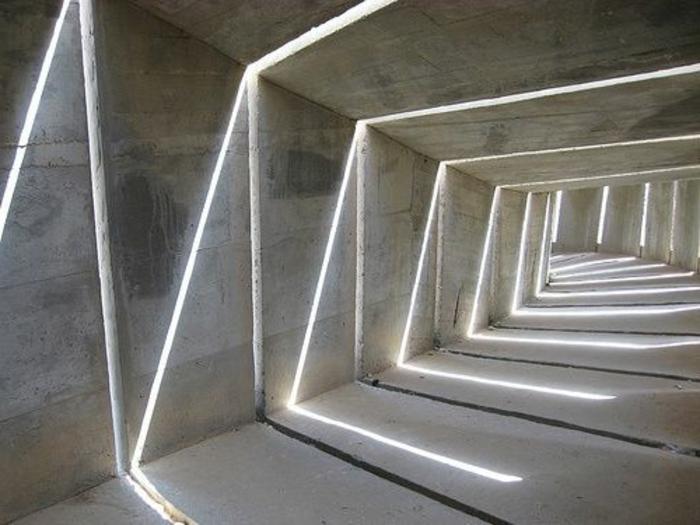 21-éclairage couloir en raies