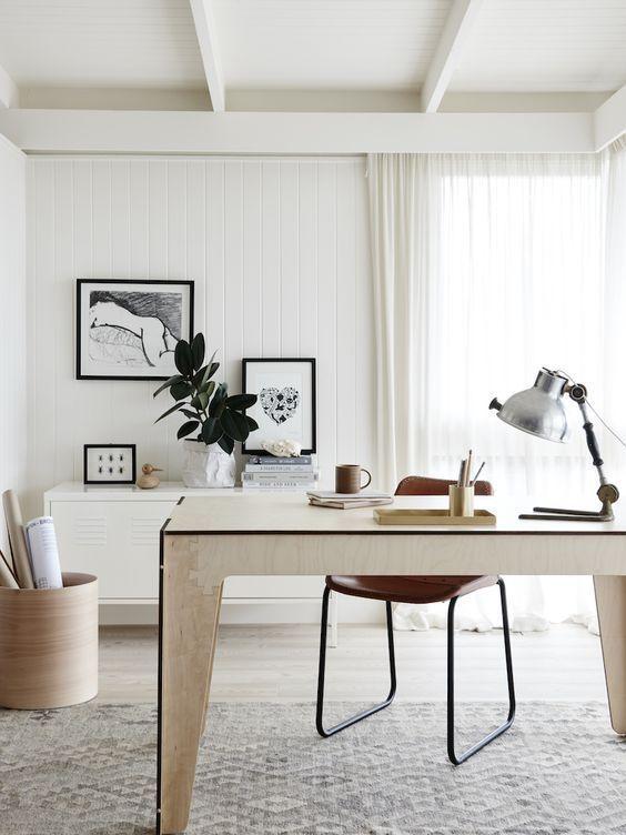 Le mobilier de bureau contemporain 59 photos inspirantes for Mobilier bureau 44