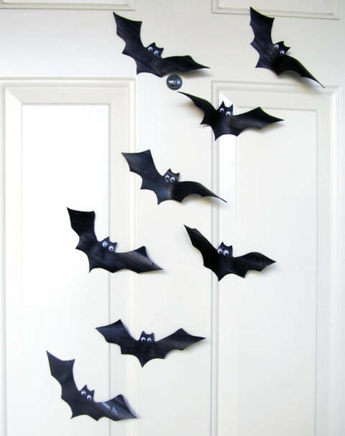 activite-halloween-interessante-faire-des-chauve-souris-en-papier-idee-extremement-facile