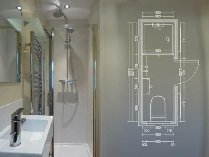 comment am nager une salle de bain 4m2. Black Bedroom Furniture Sets. Home Design Ideas