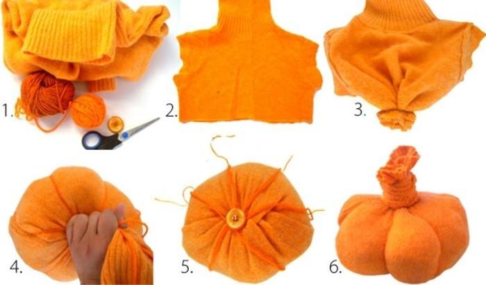 idee-tres-creative-bricolage-halloween-un-vieux-pull-transforme-en-deco-citrouille