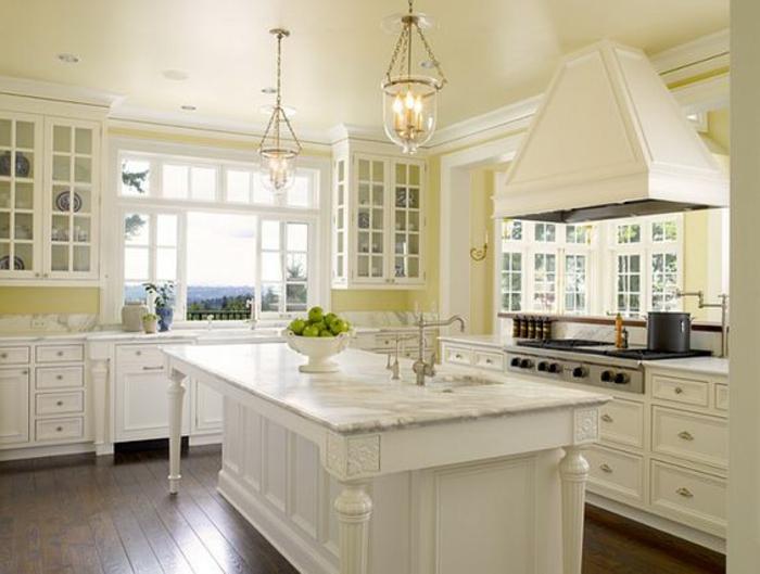ides couleur cuisine cuisine quelle couleur pour une cuisine blanche 7 cuisine blanche sol. Black Bedroom Furniture Sets. Home Design Ideas