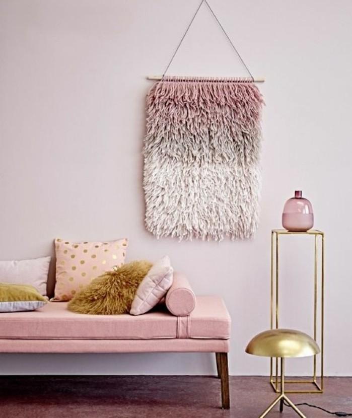 quelle-peinture-choisir-pour-votre-salon-idee-magnifique-peinture-rose-ambiance-tres-apaisante-qui-incite-a-la-reverie