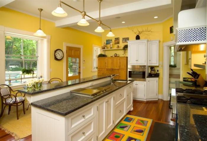 superbe-suggestion-couleur-peinture-cuisine-jaune-cuisine-ensoleillée-ambiance-sereine-enjouée