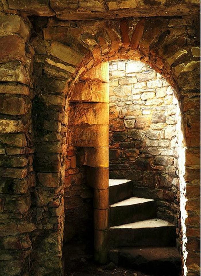 49-eclairage couloir. Escalier.