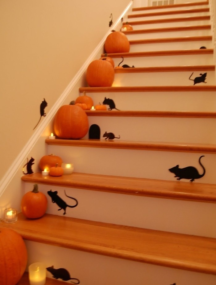 idee-tres-creative-pour-vos-escalier-peindre-des-silhouettes-de-souris-sur-les-contremarches