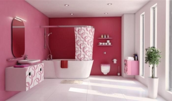 Peinture salle de bain 80 photos qui vont vous faire craquer - Deco volwassen kamer zen ...