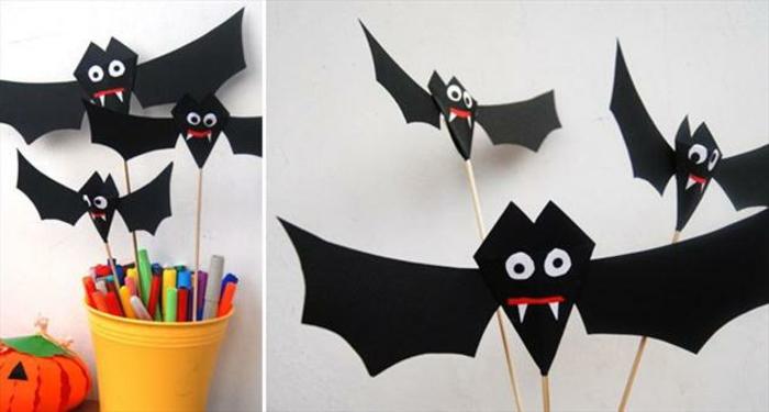 idee-bricolage-halloween-facile-des-chauves-souris-vampires-en-papier