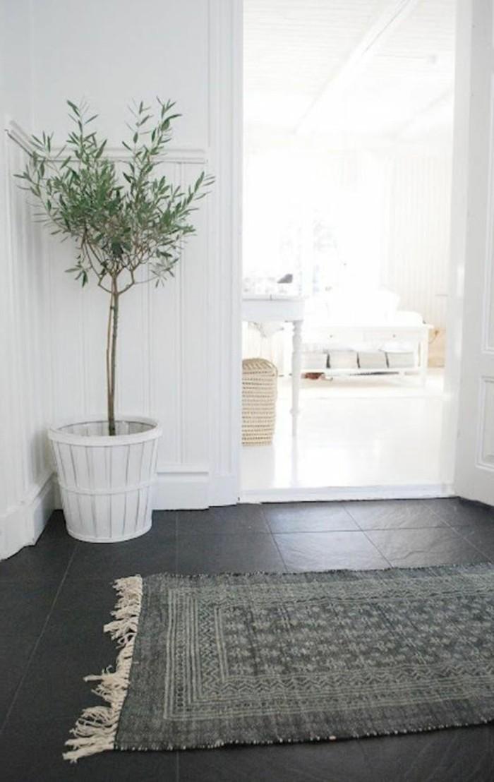 62-tapis-couloir-une-plante-est-posee-a-langle