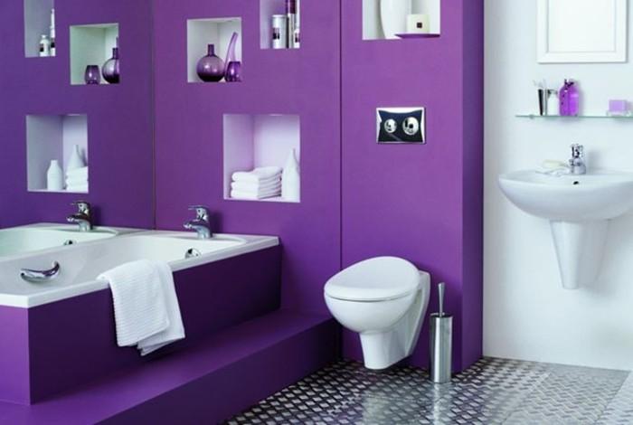 formidable-idée-salle-de-bain-mauve-modele-salle-de-bain-luxe-somptueuse